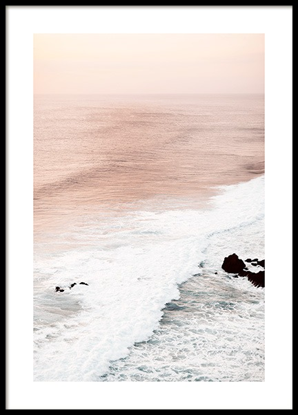 Soft Waves Poster in the group Prints / Nature at Desenio AB (12540)
