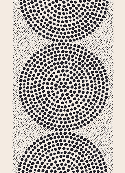 Dotted Pattern Poster in the group Prints / Art prints at Desenio AB (12571)