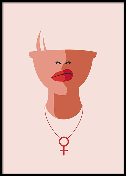 Venus Necklace Poster in the group Prints / Graphical at Desenio AB (12634)