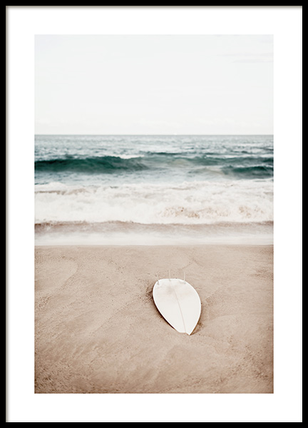 Surfing at Bondi Beach Poster in the group Prints / Nature at Desenio AB (12646)