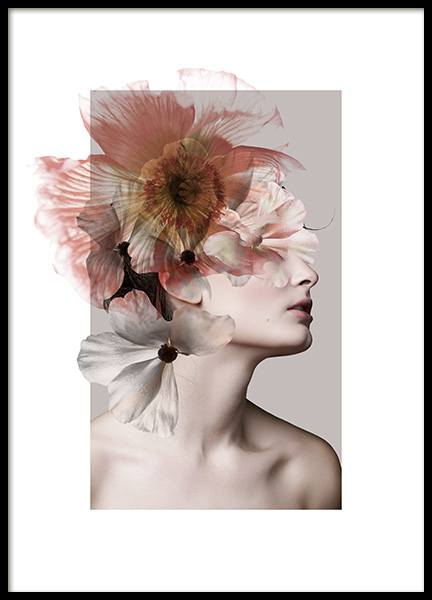 Feminine Flowers No2 Poster in the group Prints / Art prints at Desenio AB (12701)