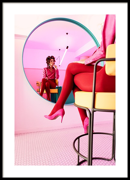 Pink Lollipop Poster in the group Prints / Photographs at Desenio AB (12762)