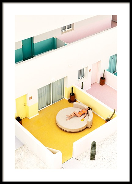 Chill Out Poster in the group Prints / Photographs / Architecture at Desenio AB (12766)