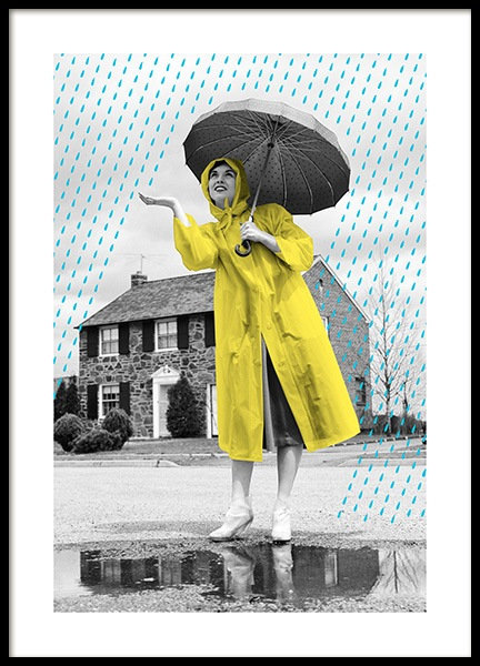 When It Rains It Pours Poster in the group Prints / Sizes / 50x70cm | 20x28 at Desenio AB (12869)
