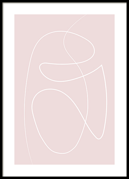 Dusty Lines No1 Poster in the group Prints / Art prints at Desenio AB (12891)