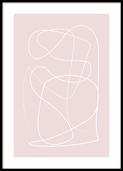 Dusty Lines No2 Poster in the group Prints / Art prints at Desenio AB (12892)