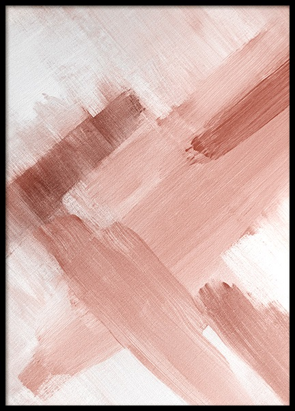 Abstract Painting Pink No2 Poster in the group Prints / Art prints at Desenio AB (12895)