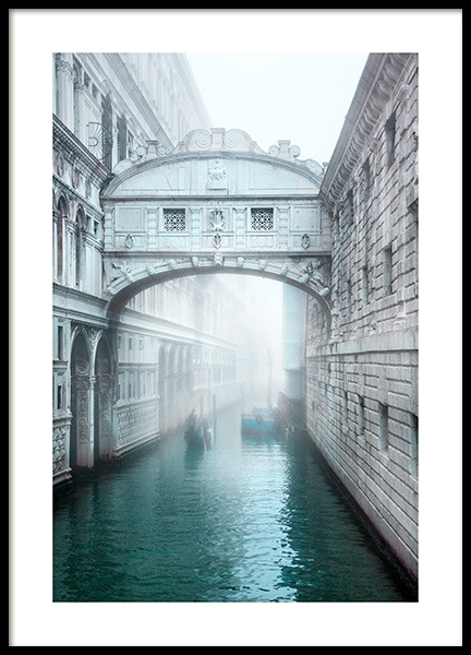 Venice Bridge Poster in the group Prints / Photographs at Desenio AB (12933)