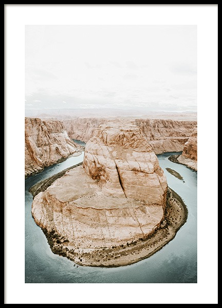 Horseshoe Bend Poster in the group Prints / Nature at Desenio AB (12976)