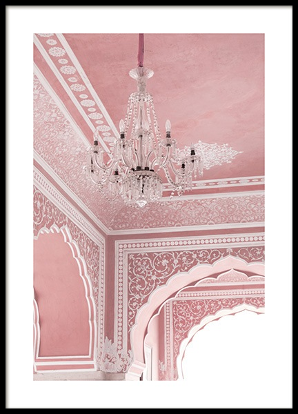 Pink Palace Poster in the group Prints / Photographs at Desenio AB (13001)