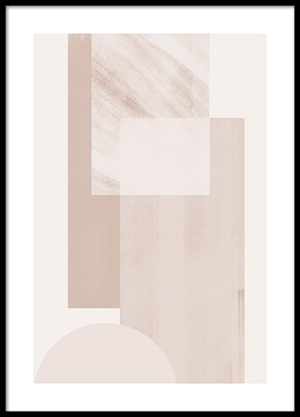 Geometric Shades No2 Poster in the group Prints / Graphical at Desenio AB (13017)