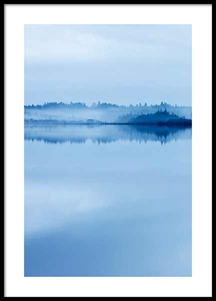 Calm Morning Poster in the group Prints / Nature at Desenio AB (13060)