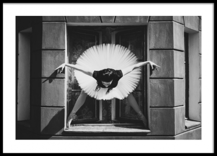 Keeping the Balance Poster in the group Prints / Black & white at Desenio AB (13128)