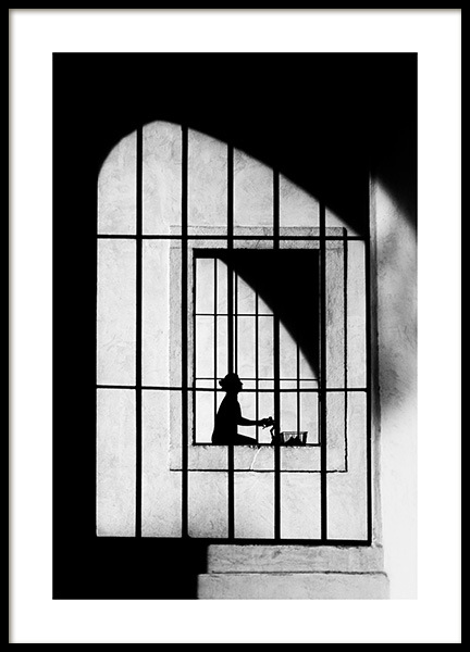 Shadows Poster in the group Prints / Black & white at Desenio AB (13134)