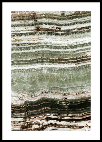 Onyx Stone Poster in the group Prints / Photographs at Desenio AB (13158)