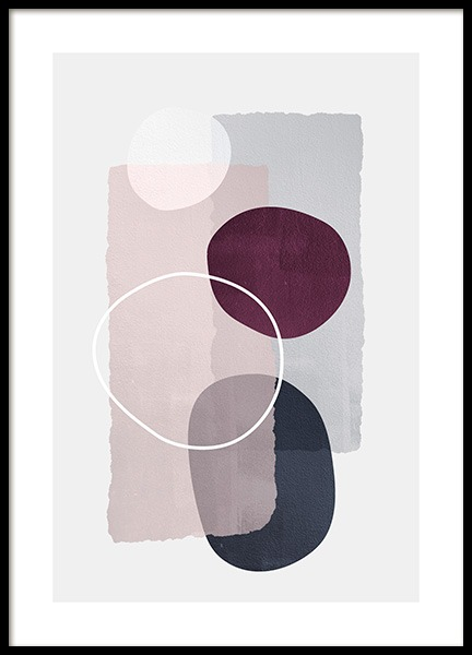 Abstract Color Blocks No1 Poster in the group Prints / Art prints at Desenio AB (13226)