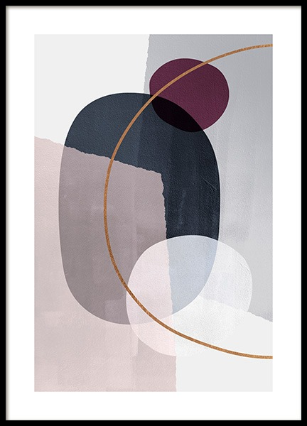 Abstract Color Blocks No2 Poster in the group Prints / Art prints at Desenio AB (13227)