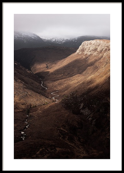 Beinn Eighe Nature Reserve Poster in the group Prints / Nature prints at Desenio AB (13230)