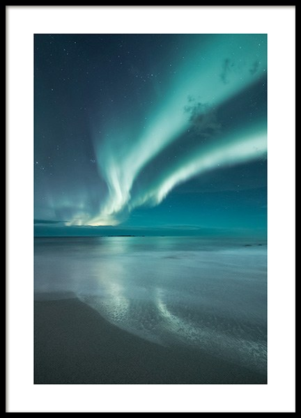 Northern Lights Poster in the group Prints / Nature prints at Desenio AB (13233)