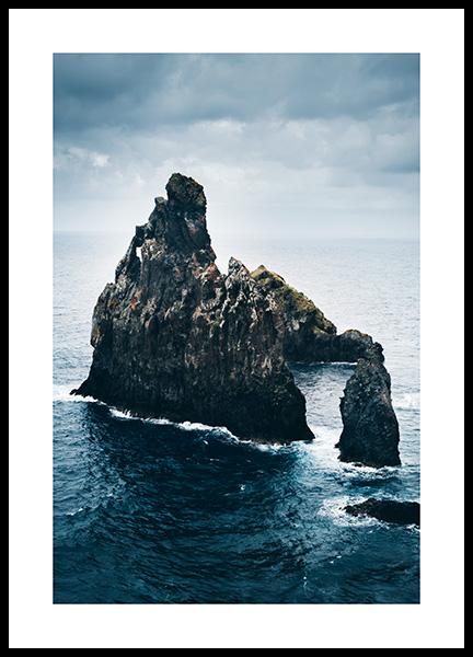 Rock Formations Portugal Poster in the group Prints / Nature at Desenio AB (13237)