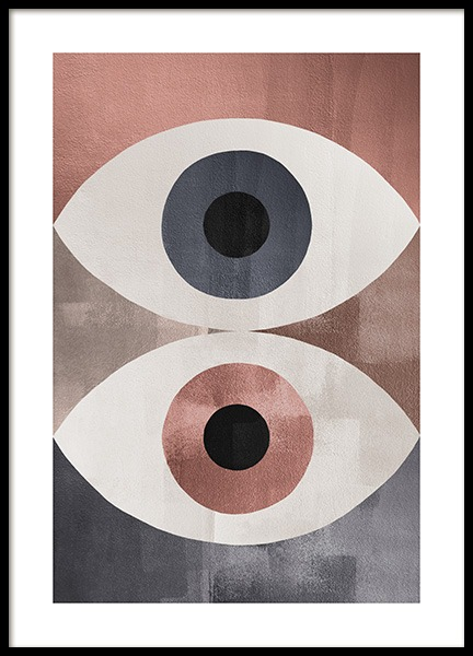 Dessau Eyes Poster in the group Prints / Art prints at Desenio AB (13288)