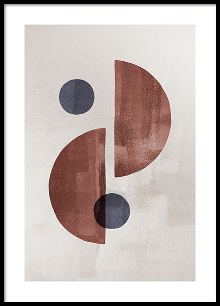 Dessau Shapes Poster in the group Prints / Art prints at Desenio AB (13291)