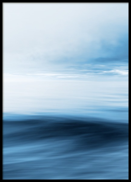 Abstract Horizon No2 Poster in the group Prints / Nature prints at Desenio AB (13331)