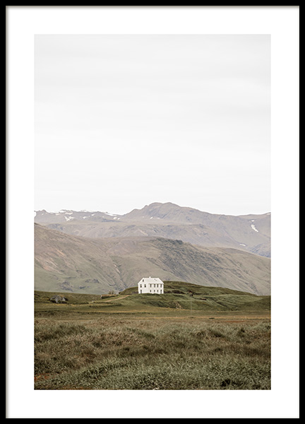 Lonely House Poster in the group Prints / Nature at Desenio AB (13349)