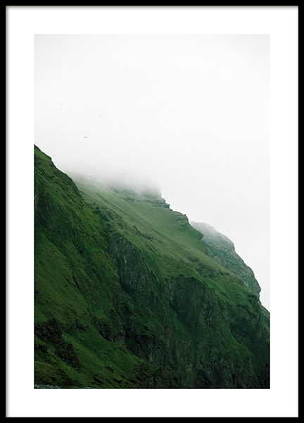 Mountain Fog Poster in the group Prints / Nature prints at Desenio AB (13356)