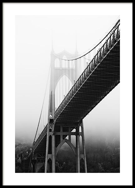 St. John's Bridge Poster