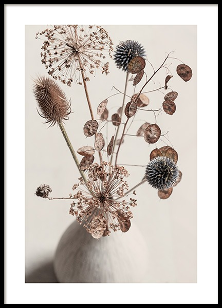 Delicate Boquet Poster in the group Prints / Botanical at Desenio AB (13419)