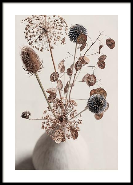 Delicate Boquet Poster