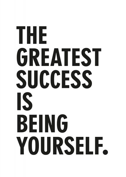 Greatest Success Poster in the group Prints / Text posters / Motivational at Desenio AB (13470)