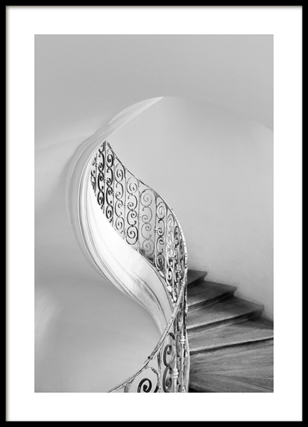 Tulip Staircase Poster in the group Prints / Photographs / Architecture at Desenio AB (13498)