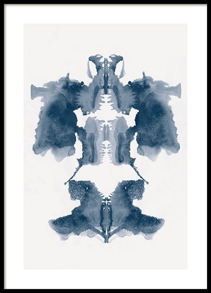 Rorschach No1 Poster in the group Prints / Art prints at Desenio AB (13522)