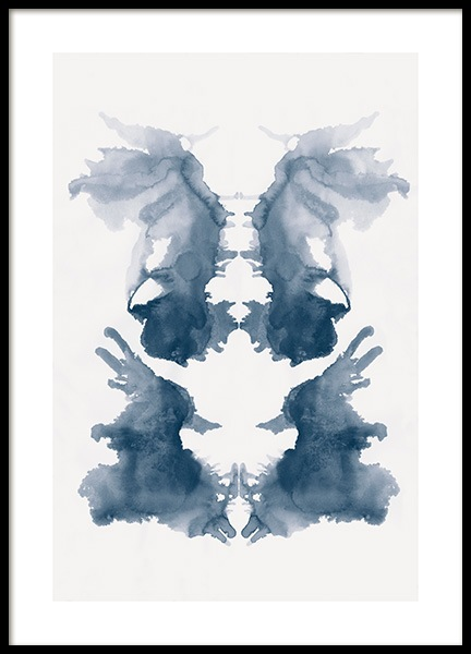 Rorschach No4 Poster in the group Prints / Art prints at Desenio AB (13525)