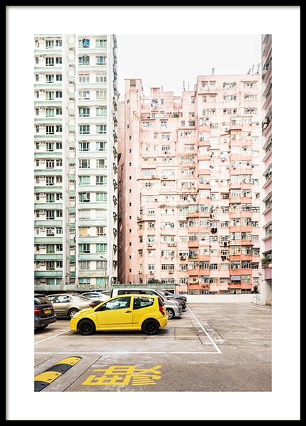 Hong Kong Pastel Poster in the group Prints / Photographs at Desenio AB (13540)