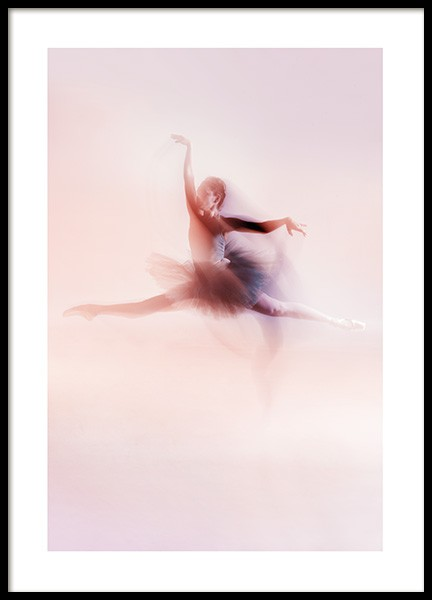 Blurred Dancer Poster in the group Prints / Photographs at Desenio AB (13544)