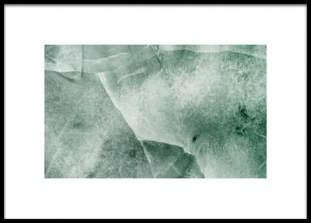 Green Ice Poster in the group Prints / Nature at Desenio AB (13972)