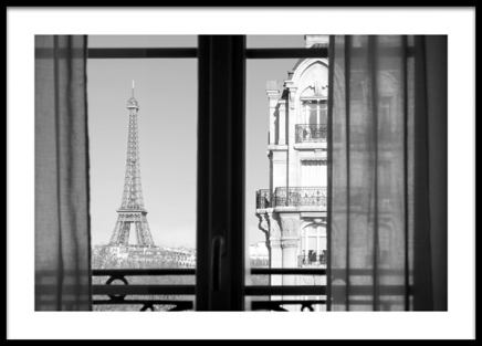 Parisian View Poster in the group Prints / Photographs / Architecture at Desenio AB (14036)