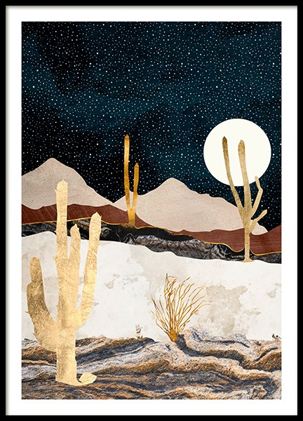 Desert View Poster in the group Prints / Art prints at Desenio AB (14195)