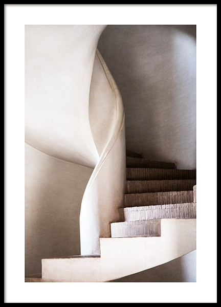 Stairs of Art No1 Poster