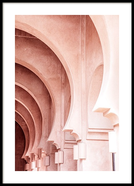 Gradient Pink Poster in the group Prints / Photographs at Desenio AB (14234)