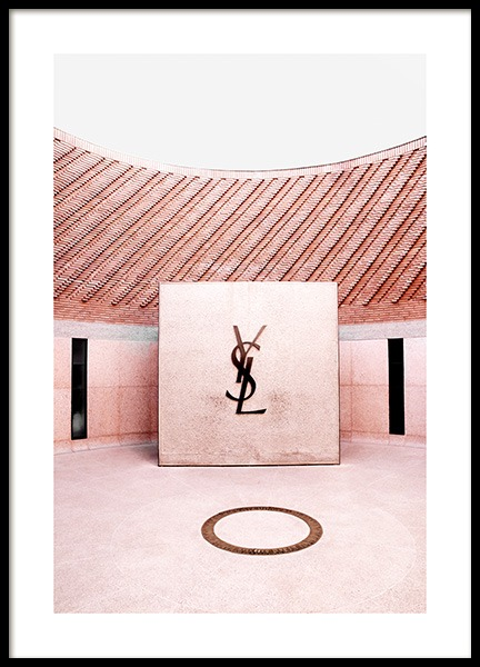 YSL Fashion Museum Poster in the group Prints / Photographs / Architecture at Desenio AB (14305)