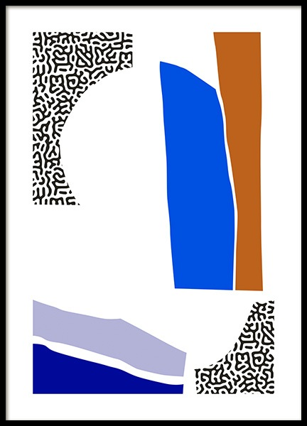Negative Space Poster in the group Prints / Graphical at Desenio AB (14317)