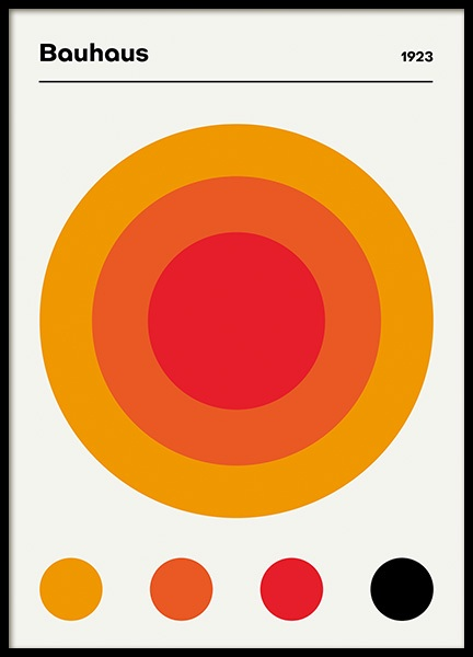 Bauhaus 1923 Poster in the group Prints / Graphical at Desenio AB (14495)