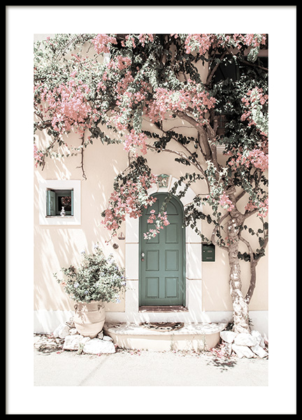 Kefalonia Door Poster in the group Prints / Photographs at Desenio AB (14639)