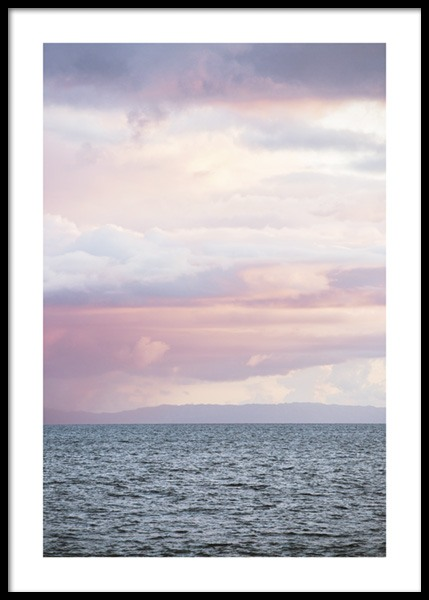 Cloudy Sea Poster in the group Prints / Photographs at Desenio AB (14641)