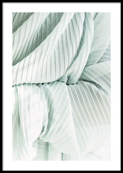 Pleated Fabric Poster in the group Prints / Photographs at Desenio AB (14711)