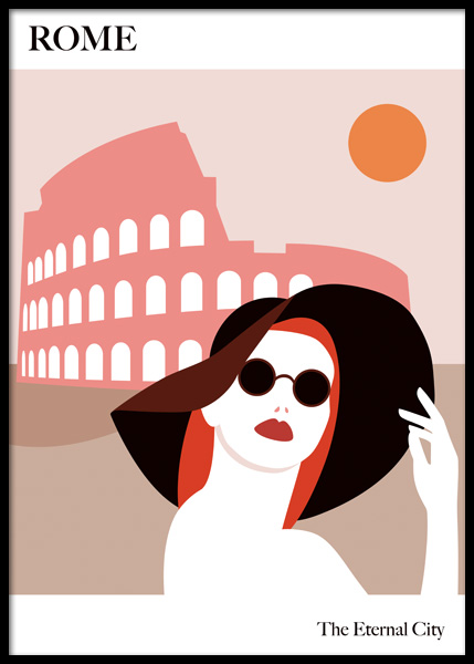 The Eternal City Poster in the group Prints / Graphical at Desenio AB (14775)